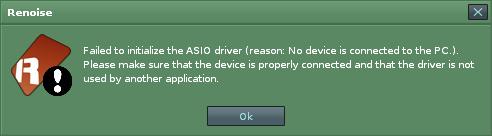 Asio Warning